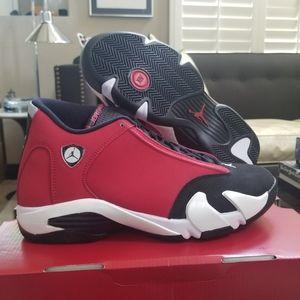 Air Jordan 14 Retro Gym Red Toro size 8.5
